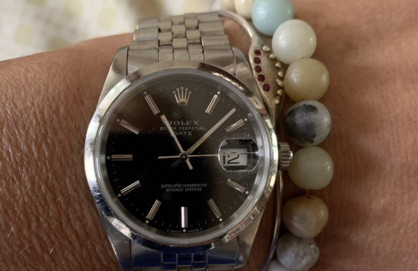 picture of Liz's watch