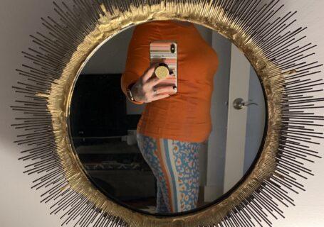 megababe leggings in leopard stripe