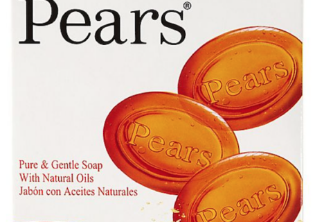 Pears classic glycerine soap is fresh and gentle