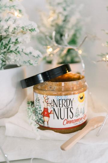 Nerdy Nuts Peanut Butter Jar