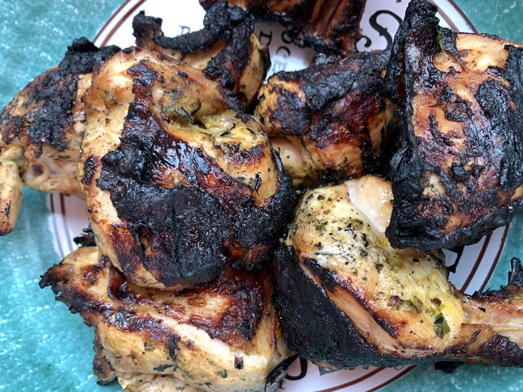peruvian style grilled chicken