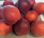 peach truck peaches