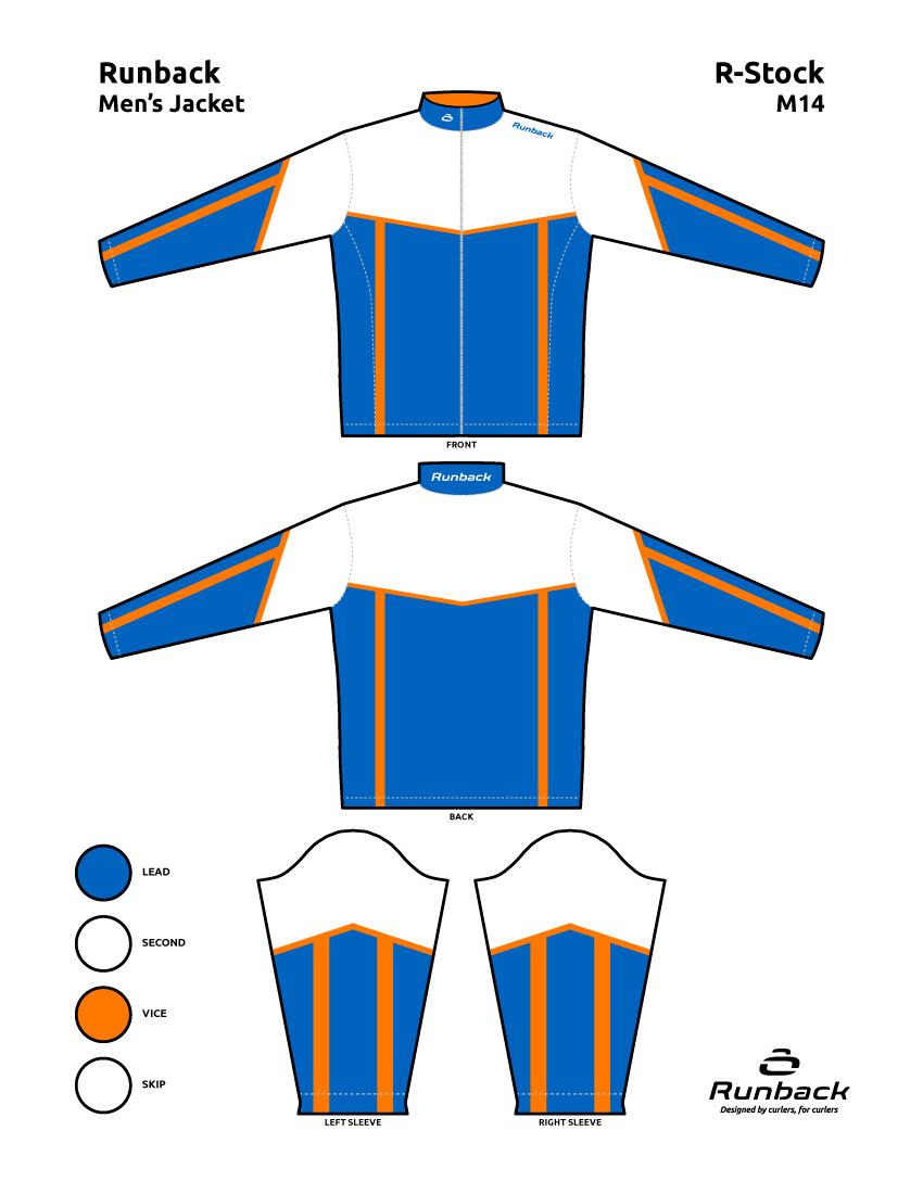 Runback Curling Jacket Stock Design M14