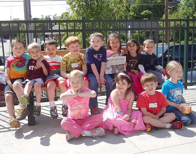 The Stow Area Parents Network (SAPN) held its third Pre-K playgroup on Friday, May 31st.  These soon-to-be Kindergarteners had a great time bowling in Acton followed by a visit to Orange Leaf for some frozen yogurt.
