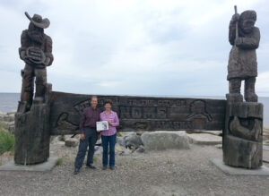 Chris and Laura Spear continued a summer family heritage tour with a trip to Alaska, ending in Nome, Chris' birthplace. They didn't find gold, but they did mine a treasure load of family history.