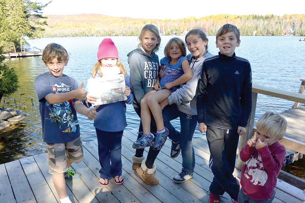Charlotte, Gordon and Ella Hatcher spent Columbus day weekend at the family summer home in Maine.