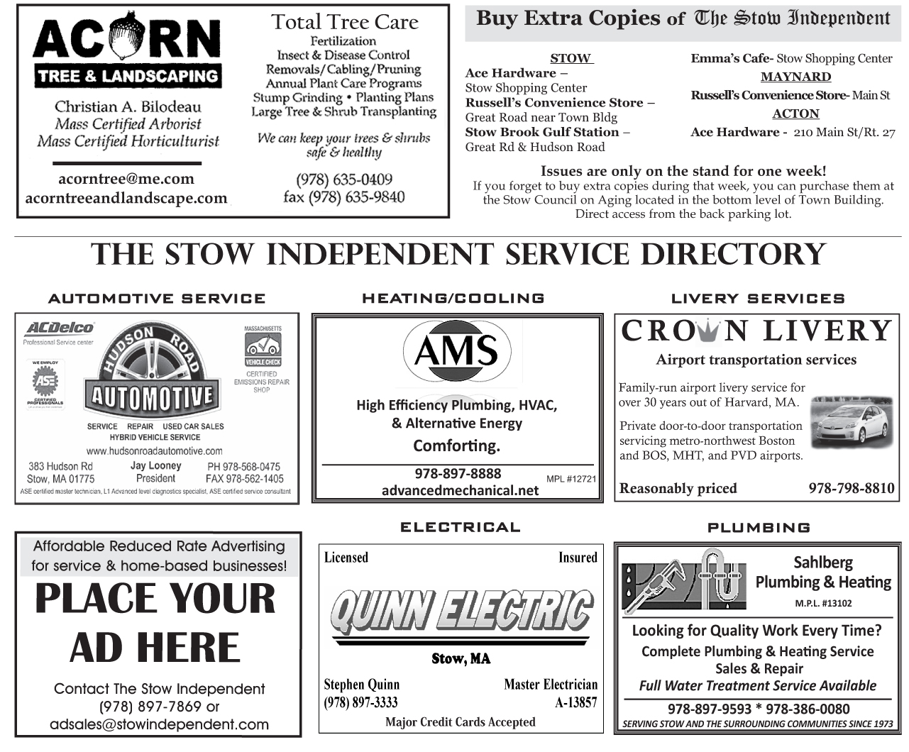 Service Directory July 2015