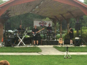 4everFab, a Beatles tribute band, played at a free concert on Thursday at Stow Community Park,  sponsored by Stow Recreation.                                                           Courtesy