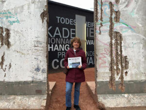 On a recent trip to Germany and Prague CZ with friends, Theresa Reardon visited the Berlin Wall and so did the Stow Independent. We toured Berlin, Dresden Germany and Prague on our European adventure.