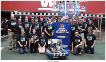 The 2016 Robotics Team                                                             Courtesy