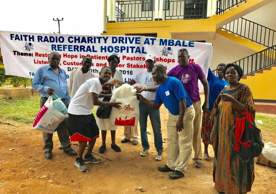 Faith Radio Charity Drive for Mbale Regional Hospital