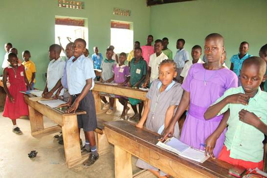 Impact Ministries orphanage classroom