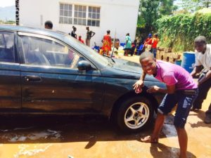 The Faith Radio Uganda car wash for the Hospital Outreach (2)