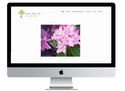 Limetree Art Website - Windrose Web Design