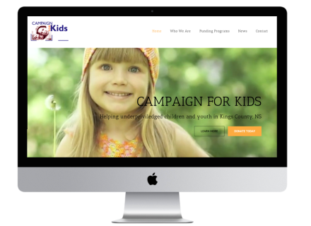 Campaign For Kids - Windrose Web Design