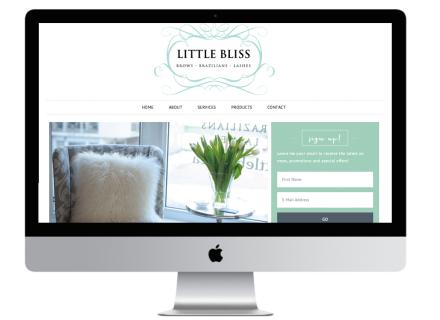 Windrose Web Design - Little Bliss