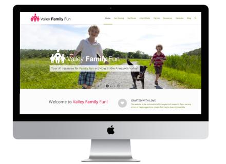 Windrose Web Design - Valley Family Fun