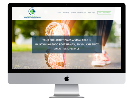 Windrose Web Design - Nova Scotia Podiatry Association