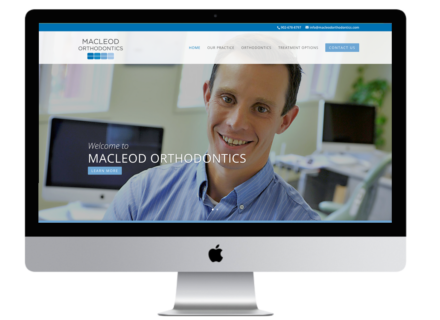 Windrose Web Design - MacLeod Orthodontics