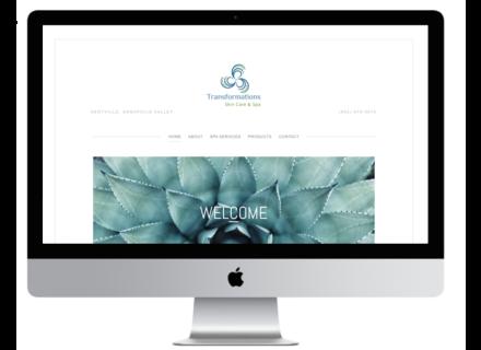 Windrose Web Design - Transformations Skin Care