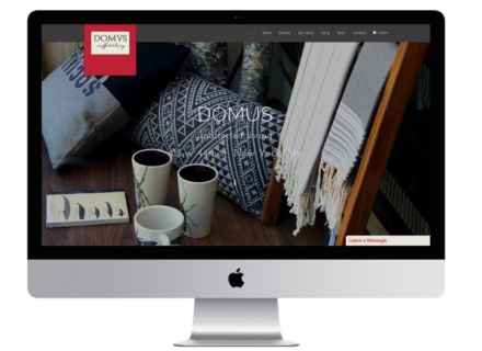 Windrose Web Design - Domus New York