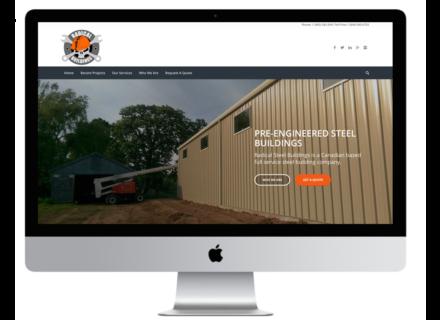 Windrose Web Design - Radial Buildings