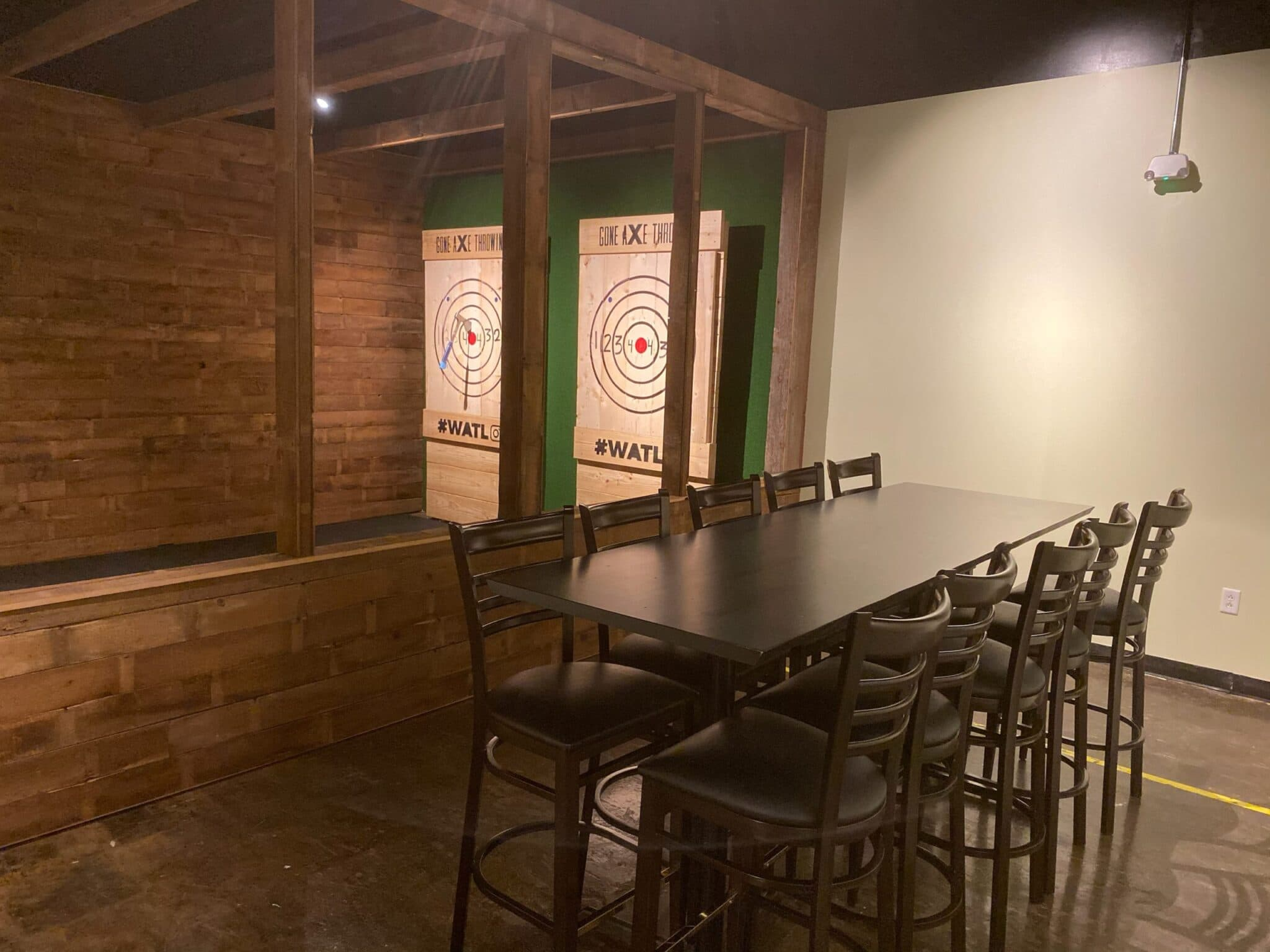 private room gone axe throwing