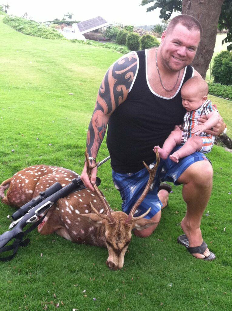 Axis in Hawaii with Zeke