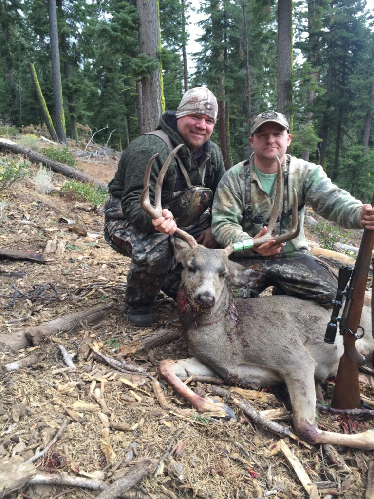 My stepbrother's first CA Mule deer