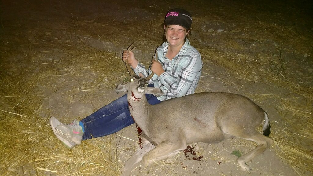 Shay's first blacktail
