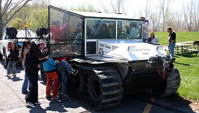 Modified mine sweeper used to rid Utah Lake of invasive weed