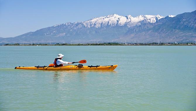 Wish you were here: Utah Lake kayaking edition