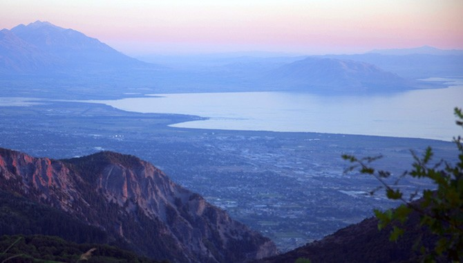"""Utah Lake in time-lapse: """"So many great locations and weather conditions"""""""
