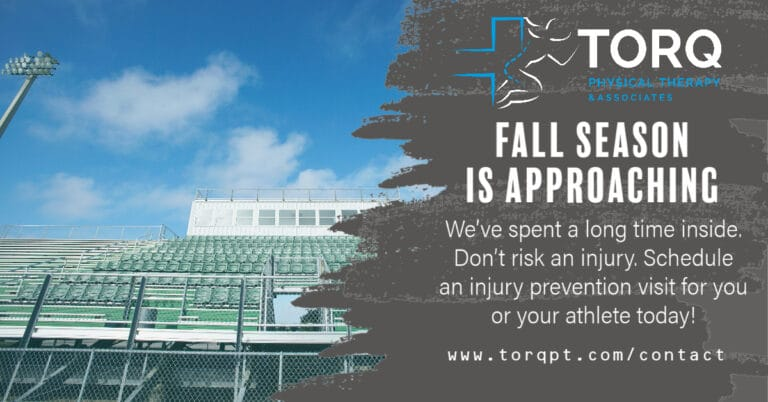 fall season sports injury prevention