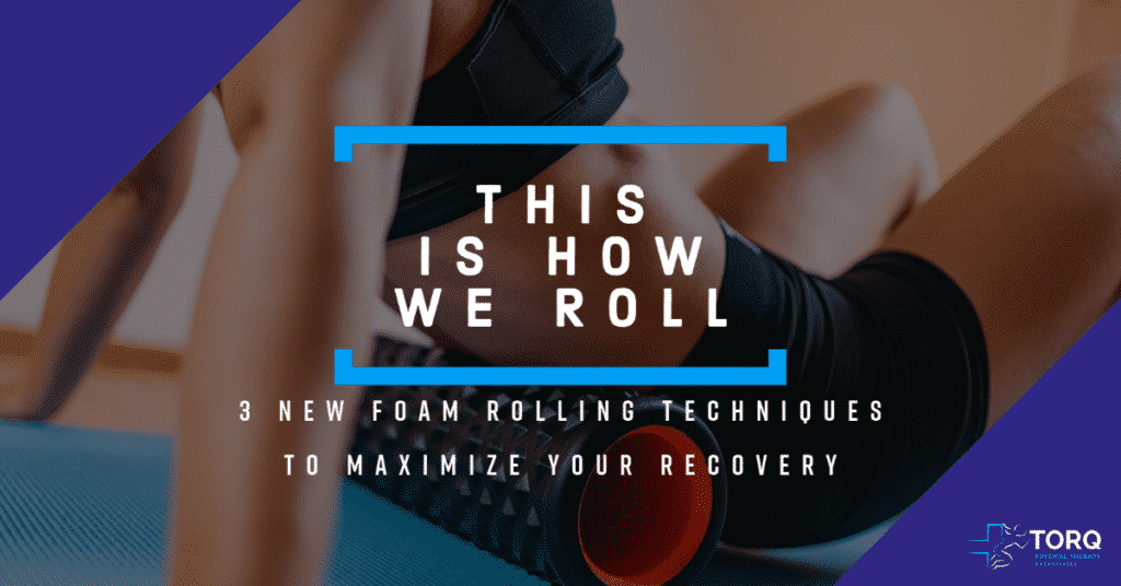 foam rolling techniques cover