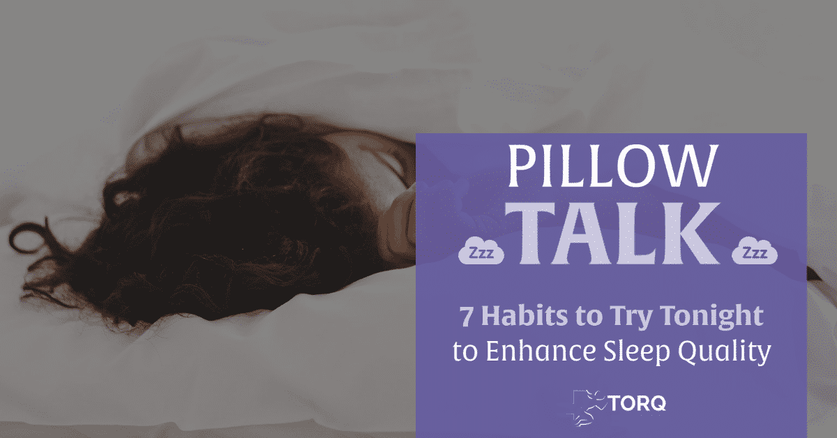 pillow talk sleep blog post cover