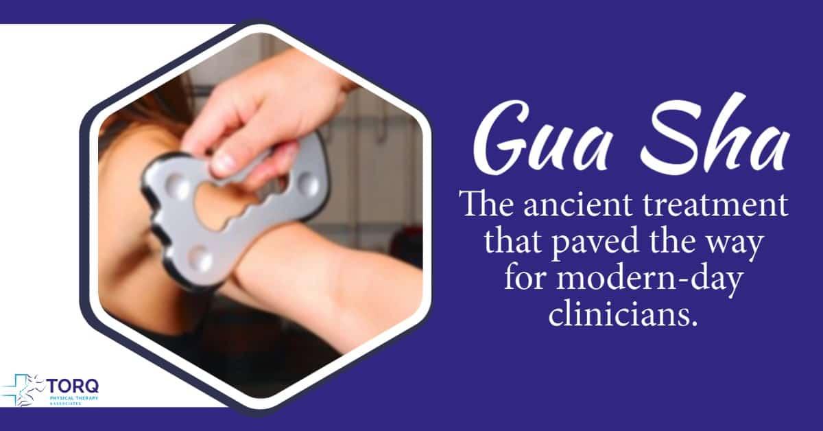 gua sha ancient treatment