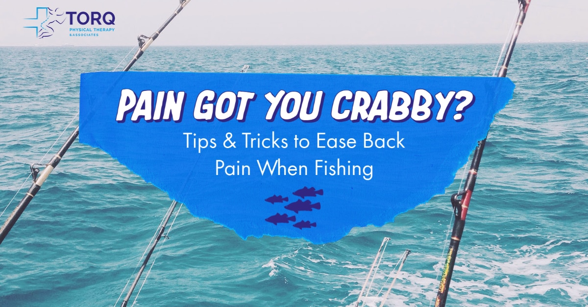 back pain when fishing