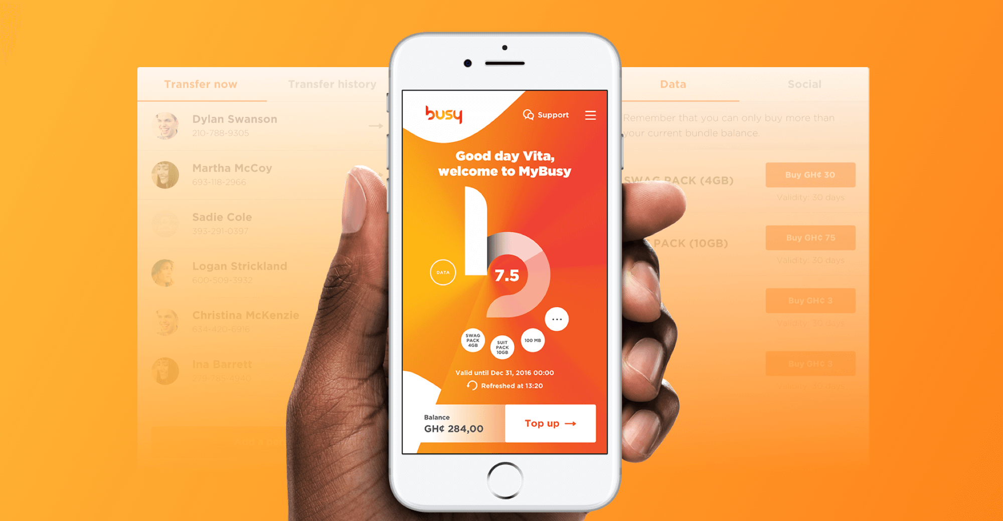 Busy – Mobile App