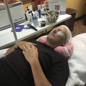 men's facial in tampa spa