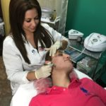 day spa tampa Ivette at work