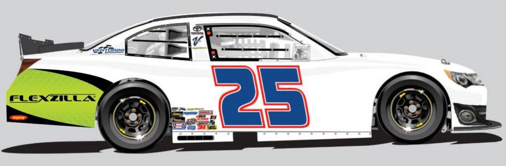 Race Car Quater Panel Decal