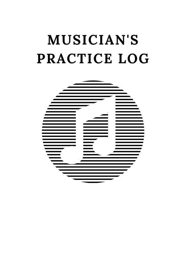 Musician's Practice Log
