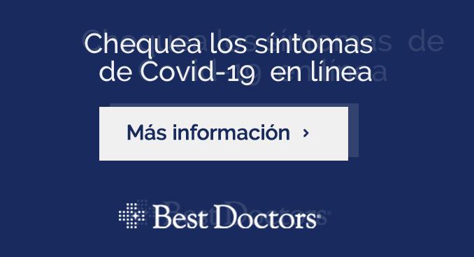 Chequea los síntomas de Covid-19 en línea