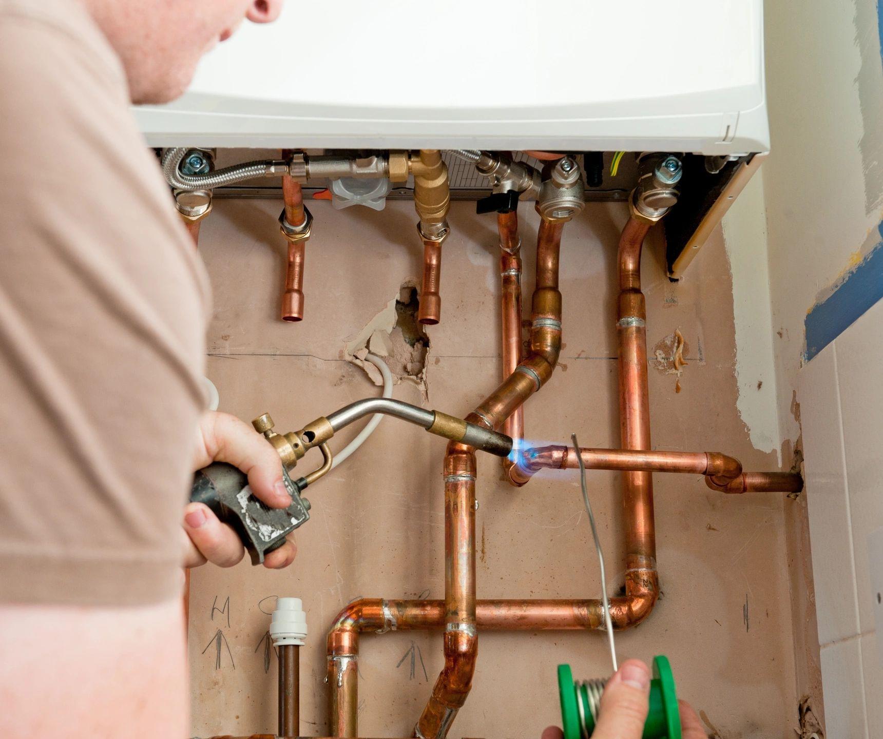 plumbing, boilers, heating, gasfitting