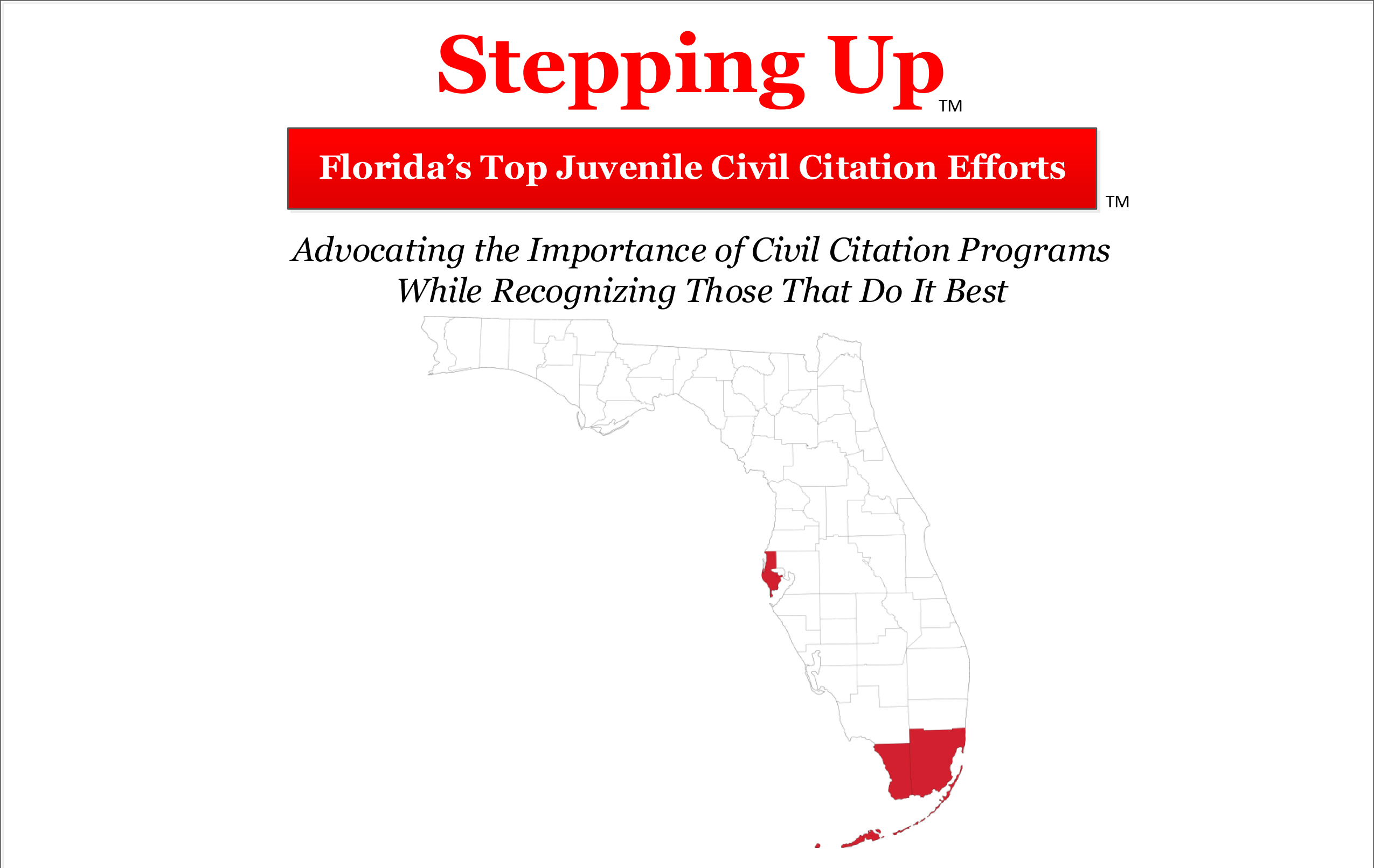 Florida counties fare poor on juvenile civil citation rates with three-quarters earning an F grade