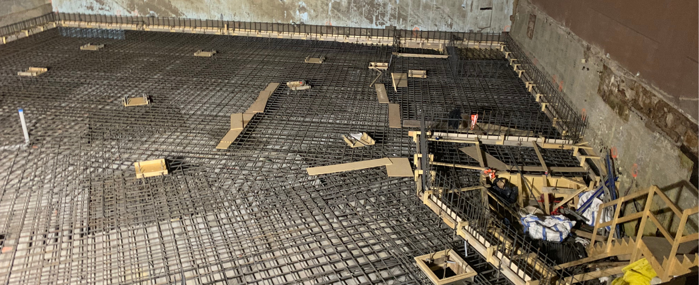 Calgary Commercial Concrete Foundation