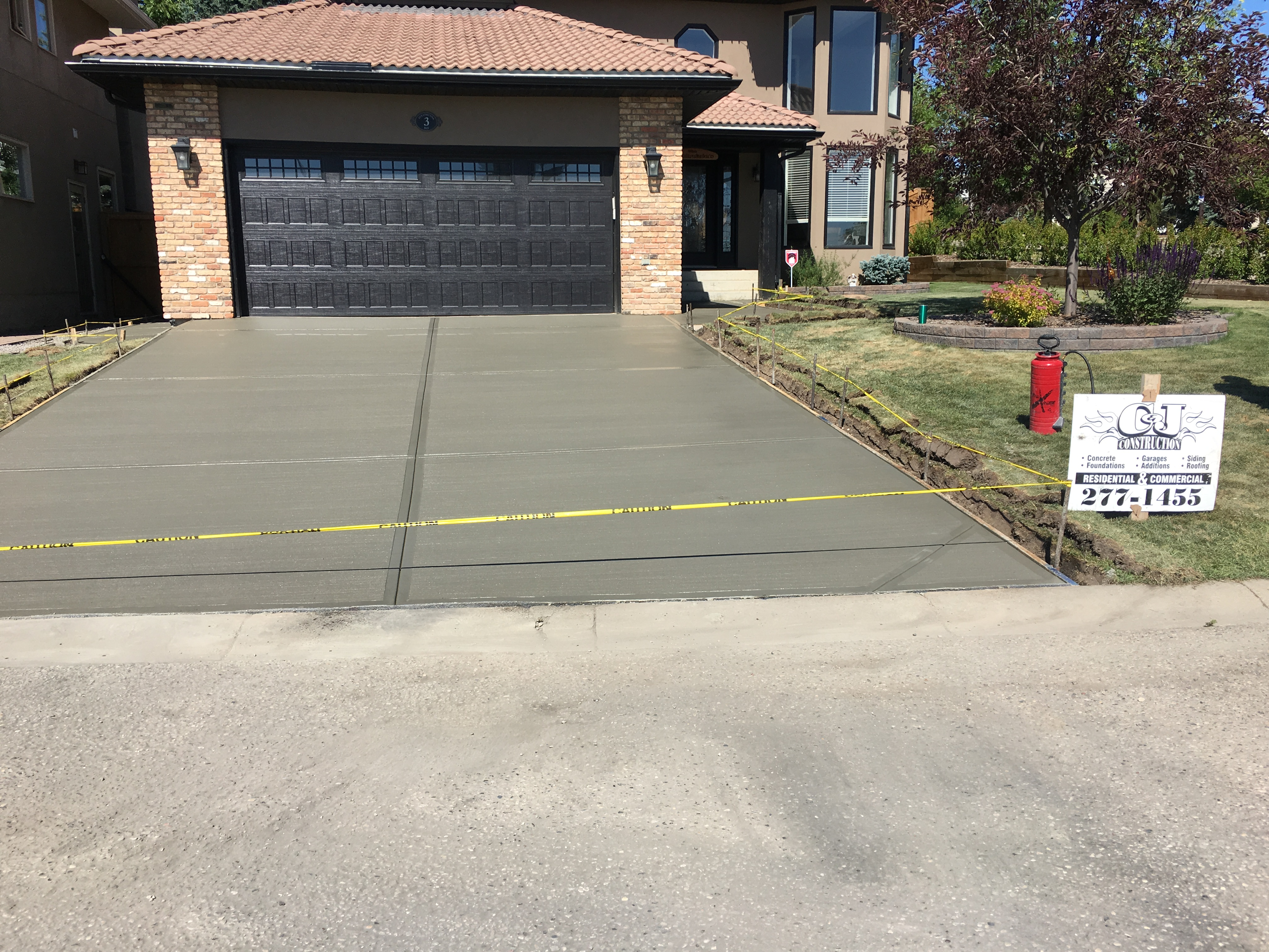CandJ Construction Driveway Builder in Calgary
