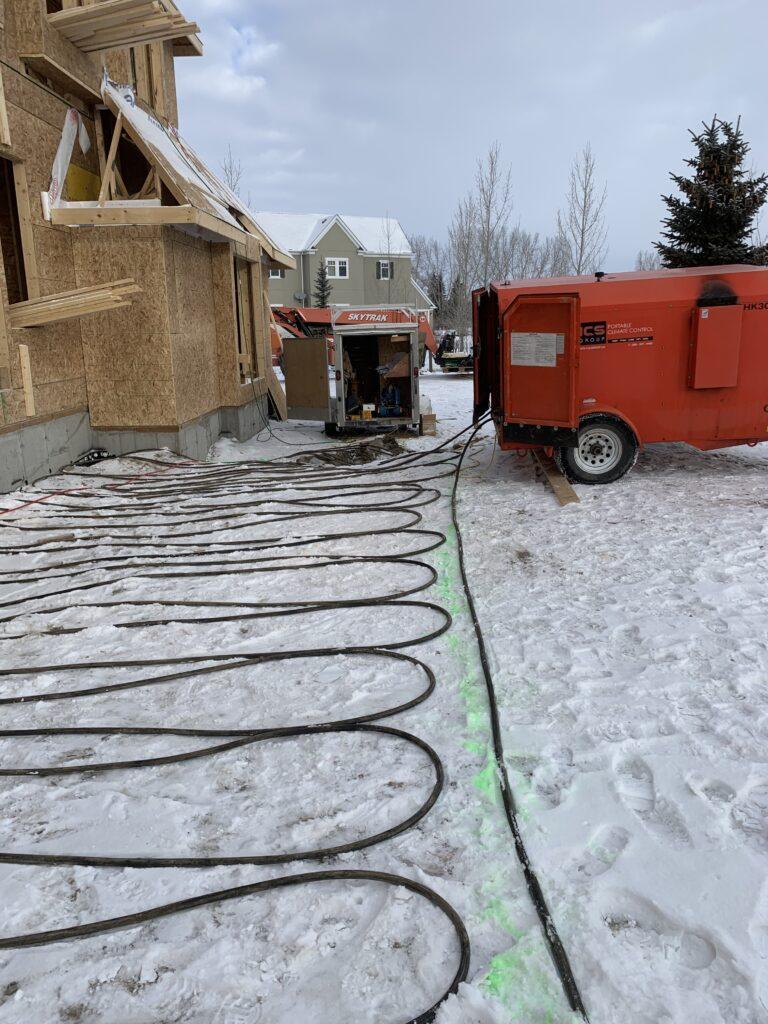 Calgary Ground Thaw Machine