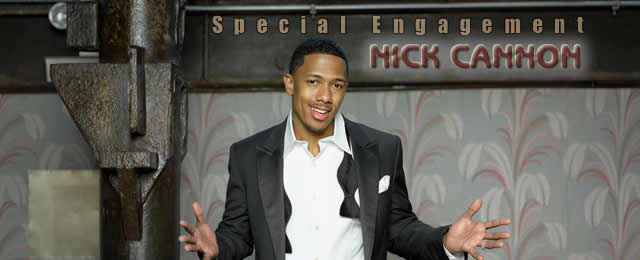 Nick Cannon at the Comedy House